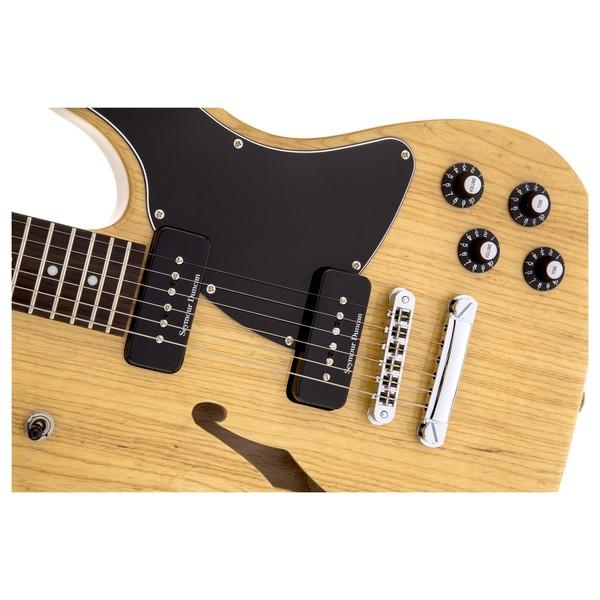 Fender Jim Adkins JA-90 Thinline Telecaster, Natural Close