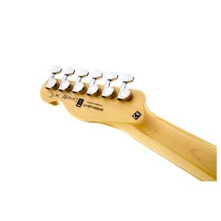 Fender Jim Adkins JA-90 Thinline Telecaster, Natural Headstock Back