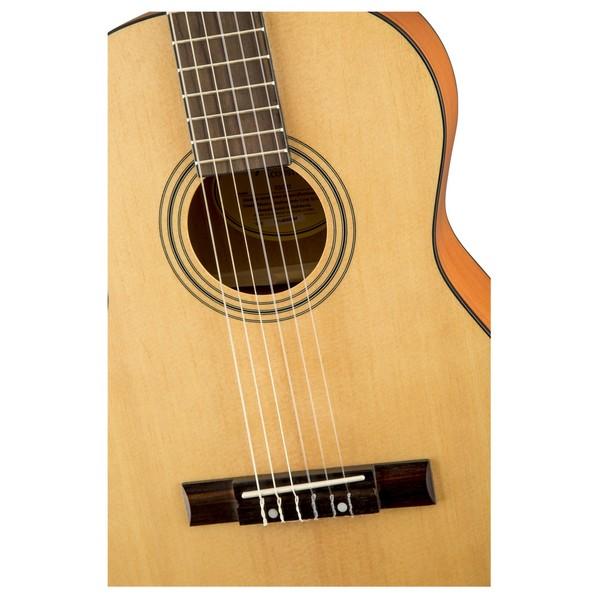 Fender ESC80 3/4 Classical Acoustic, Natural Close