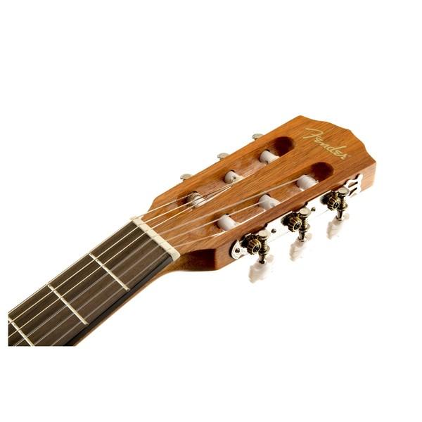 Fender ESC80 3/4 Classical Acoustic, Natural Headstock