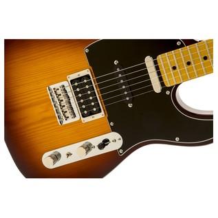 Fender Modern Player Telecaster Plus, Honey Burst Close