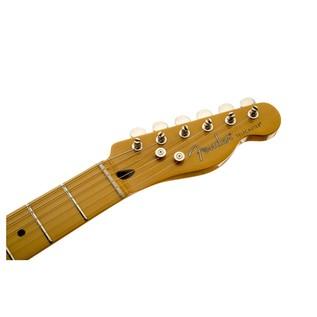 Fender Modern Player Telecaster Plus, Honey Burst Headstock