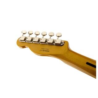 Fender Modern Player Telecaster Plus, Honey Burst Headstock Back