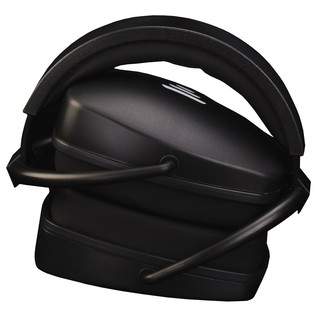 EX29 Plus Isolation Headphones, Black - Folded