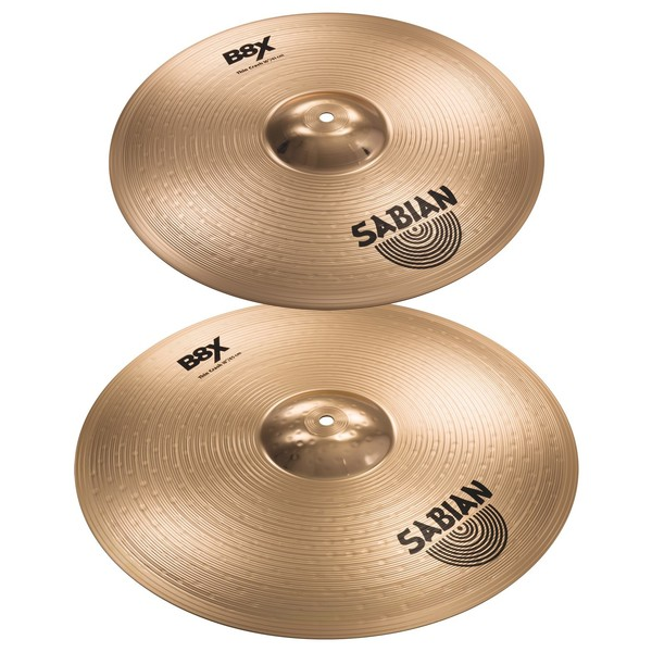 Sabian B8X 16'' and 18'' Thin Crash Value Bundle bom