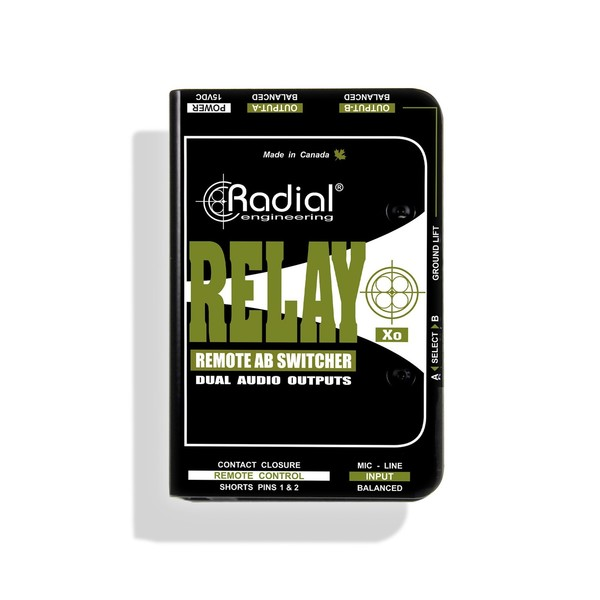 Radial Relay Xo Balanced Remote AB Switcher 1