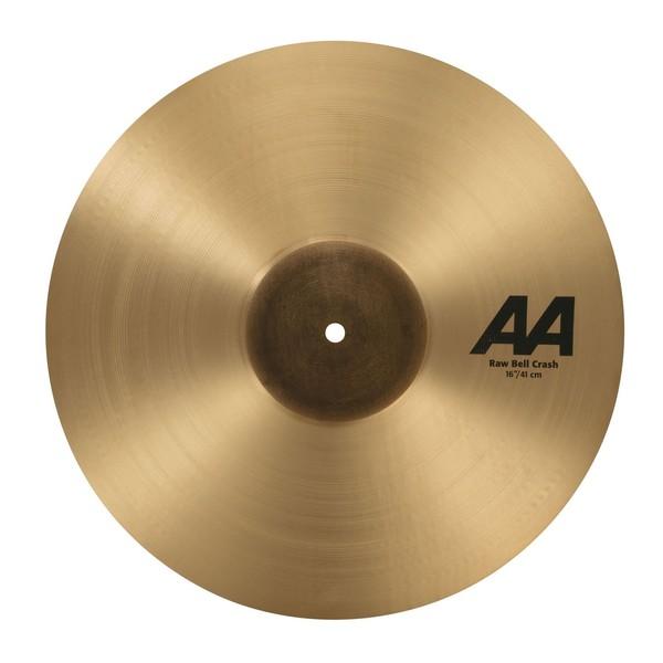 Sabian AA 16'' Raw Bell Crash Cymbal, Natural - Main