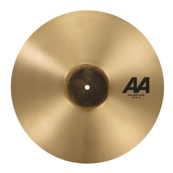 Sabian AA 18'' Raw Bell Crash Cymbal, Natural - Main