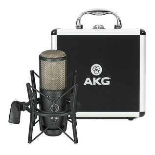 AKG P220 Large Diaphragm Condenser Microphone - Contents