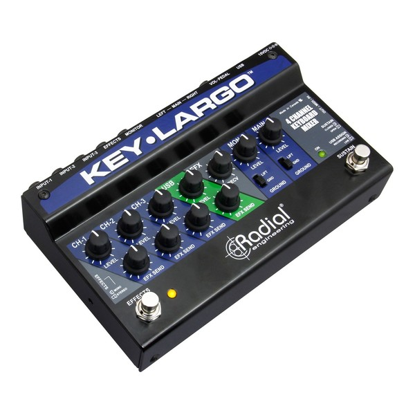 Radial Key-Largo Keyboard Mixer and Performance Pedal 3