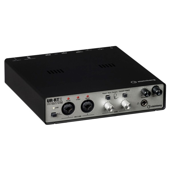 Steinberg UR-RT2 USB Audio Interface - Angled