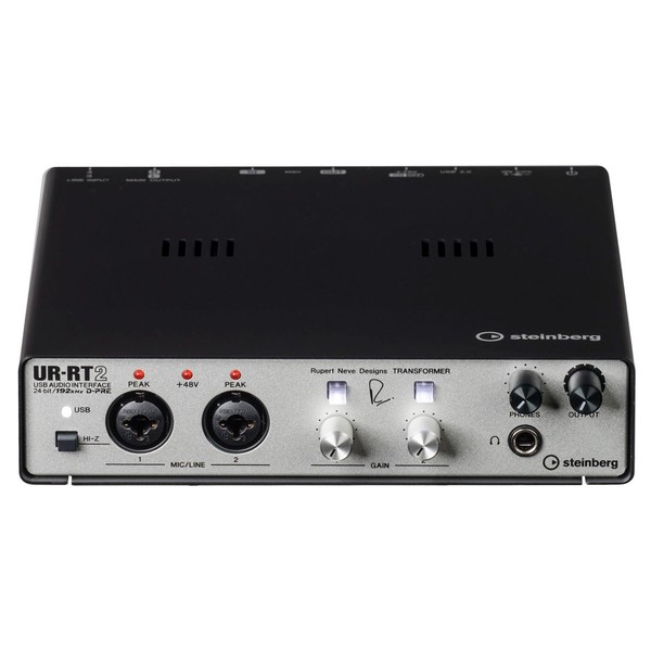 UR-RT2 USB Audio Interface - Front