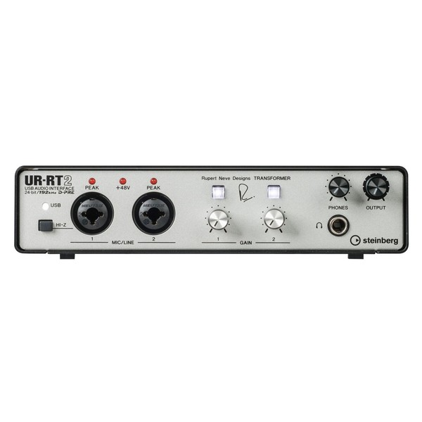 UR-RT2 Audio Interface - Front Panel