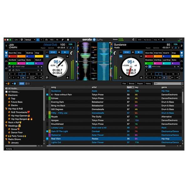 Serato DJ Software - Main