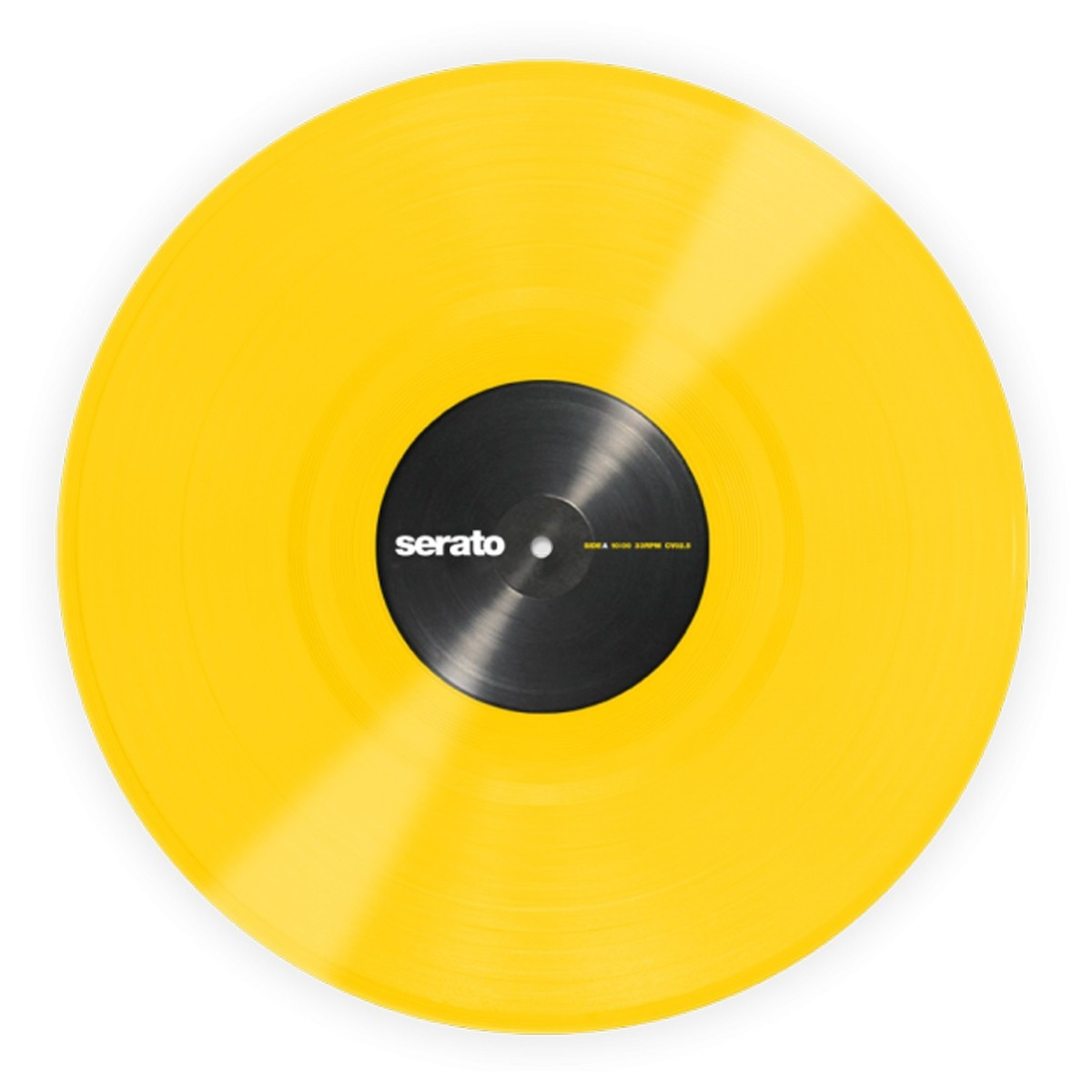 serato 12 performance series control vinyl yellow pair at
