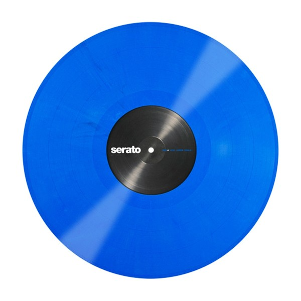 Serato 12'' Performance Series Control Vinyl, Blue (Pair) - Blue