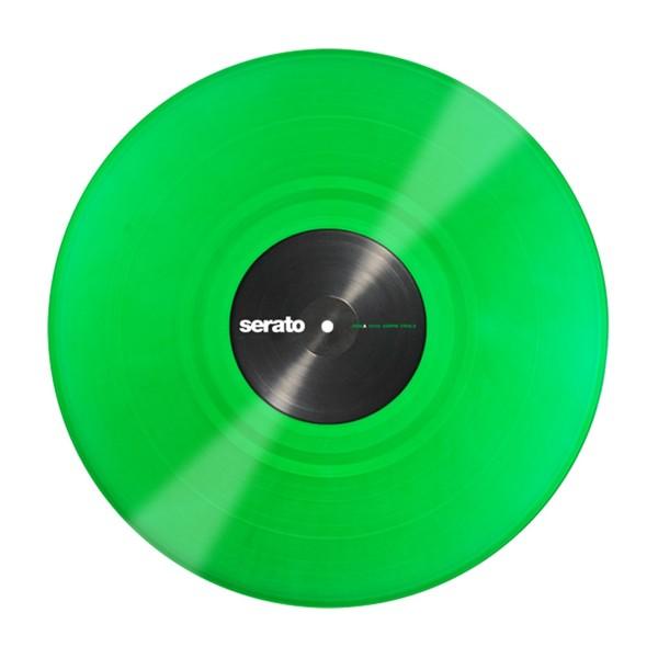 Serato 12'' Performance Series Control Vinyl, Green (Pair) - Main