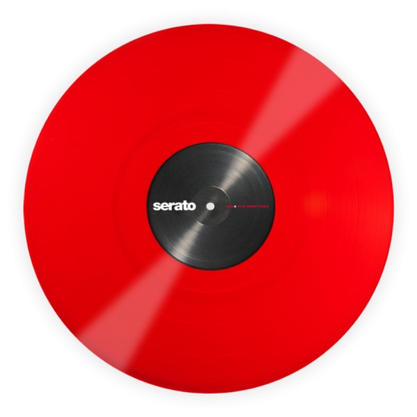 Serato 12'' Performance Series Control Vinyl, Red (Pair) - Main