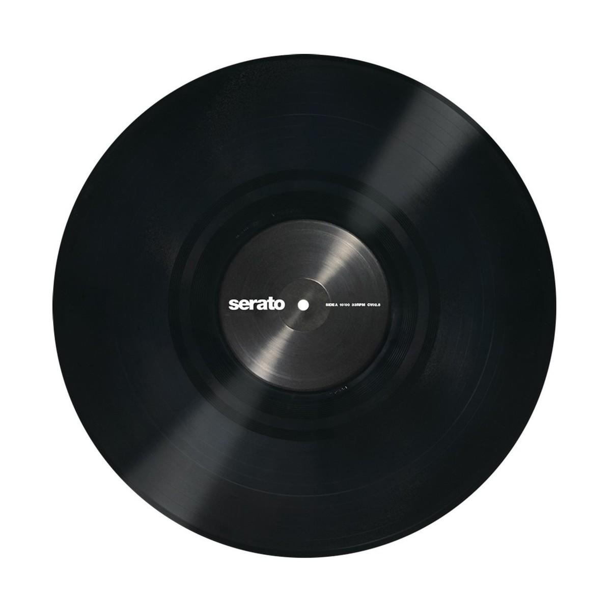 Serato 12 Performance Series Control Vinyl Black