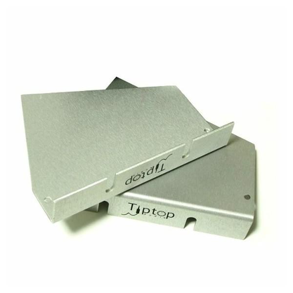 TipTop Audio Z-Ears Tabletop Pair, Silver - Main