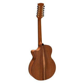 Faith Trembesi 12-String Cutaway Electro Acoustic, Natural Back View