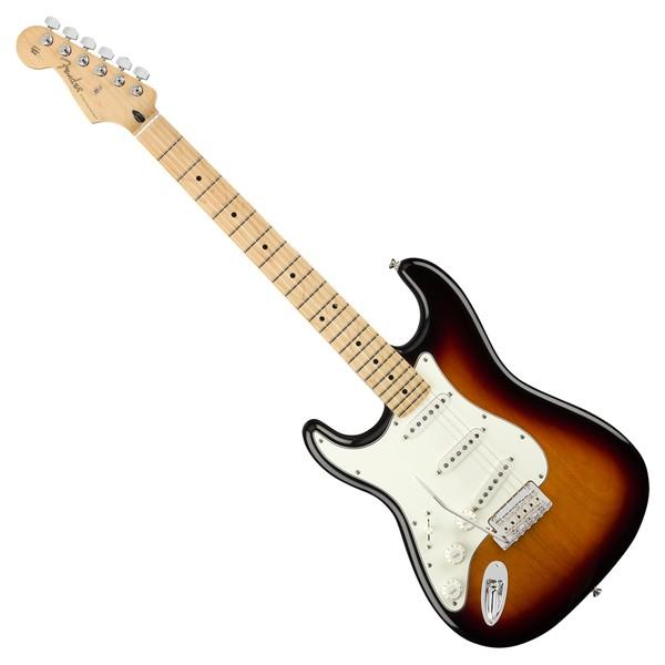 Fender Player Stratocaster MN Left Handed, 3-Tone Sunburst