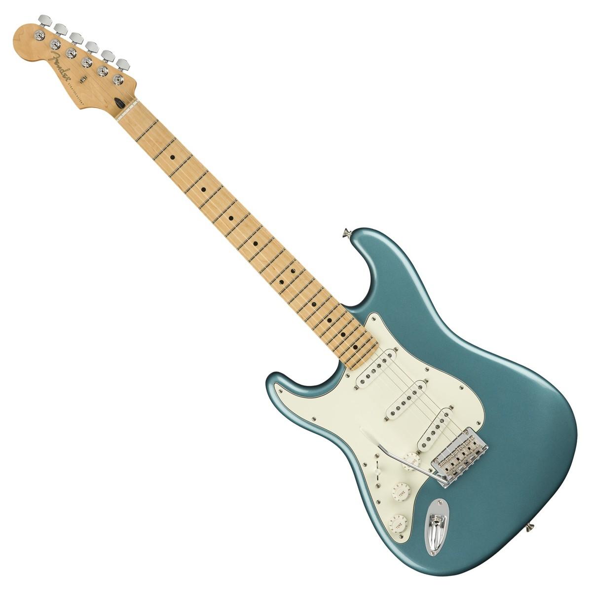 fender player stratocaster mn left handed tidepool at gear4music. Black Bedroom Furniture Sets. Home Design Ideas