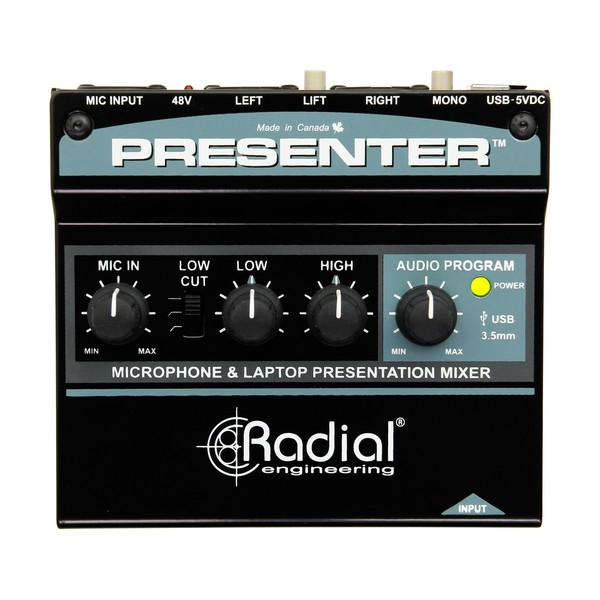 Radial Presenter Audio Mixer