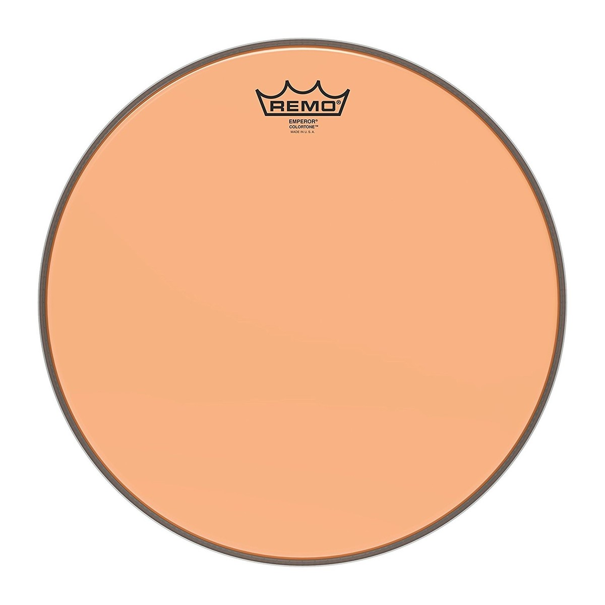 Remo Emperor Colortone Orange 14 Drum Head