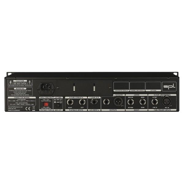 SPL Channel One Recording Channel Strip - Rear
