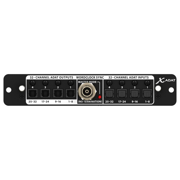 Behringer X-ADAT Wordclock Expansion Card for X32 - main