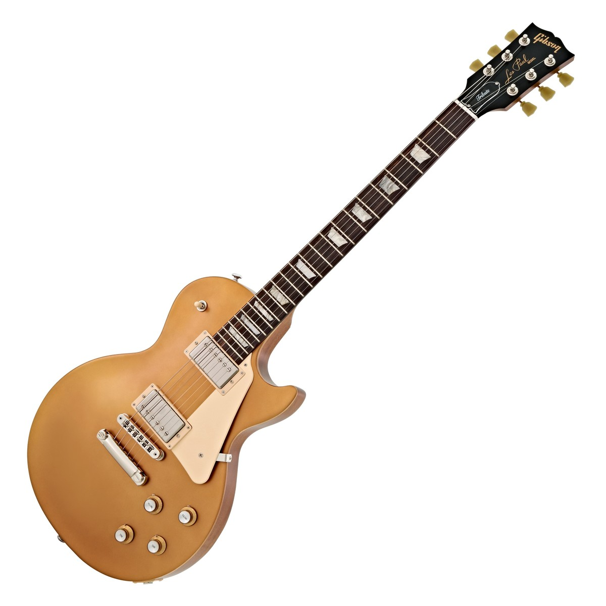 gibson les paul tribute 2018 satin gold at. Black Bedroom Furniture Sets. Home Design Ideas