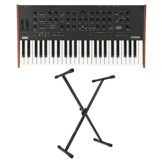 Korg Prologue 8 Voice Polyphonic Analogue Synthesizer, Free Stand - Main