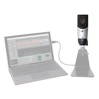 Sennheiser MK4 Digital Large Diaphragm, Side Address Mic