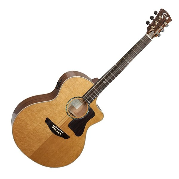 Faith Legacy Mahogany Neptune Electro Acoustic Front View