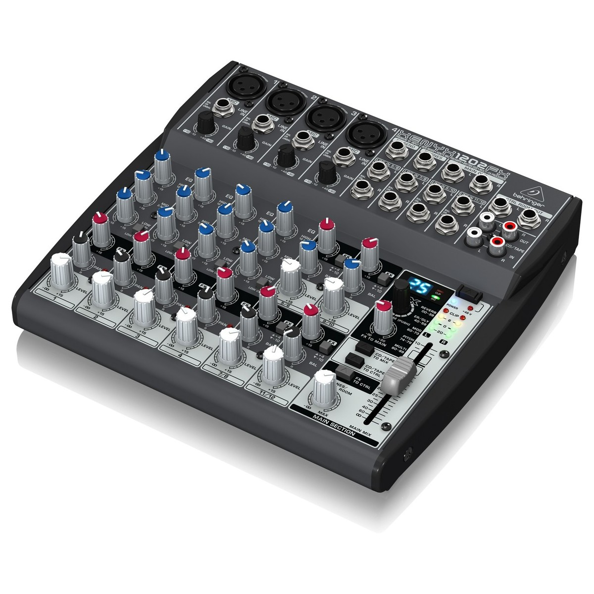 behringer xenyx 1202fx mixer b stock at gear4music. Black Bedroom Furniture Sets. Home Design Ideas