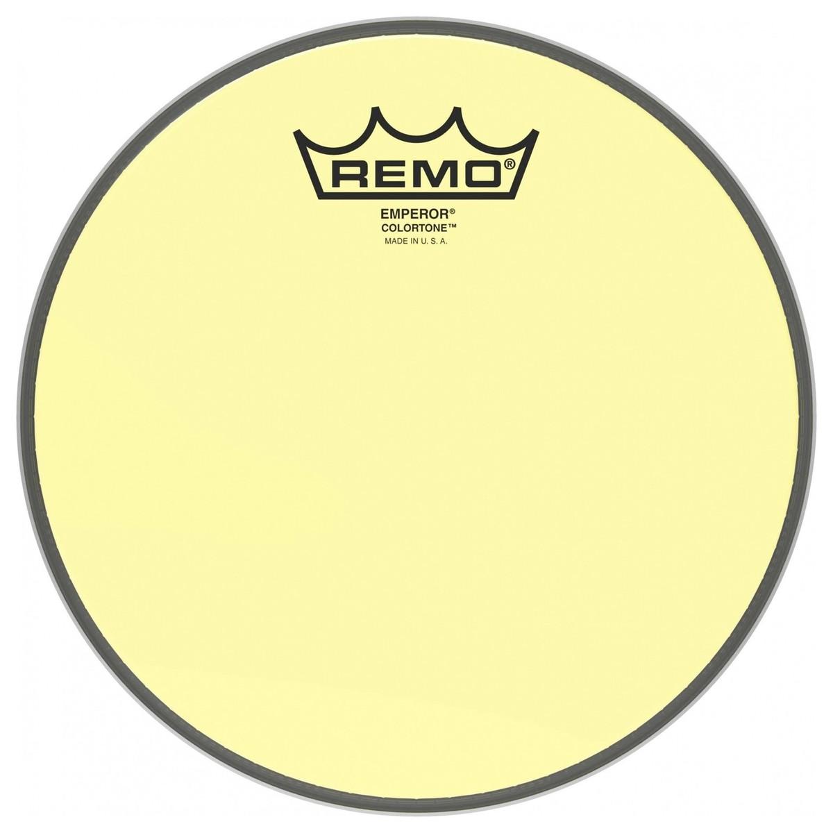 Remo Emperor Colortone Yellow 14 Drum Head