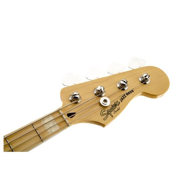 Squier Vintage Modified '77 Jazz Bass, Black Headstock