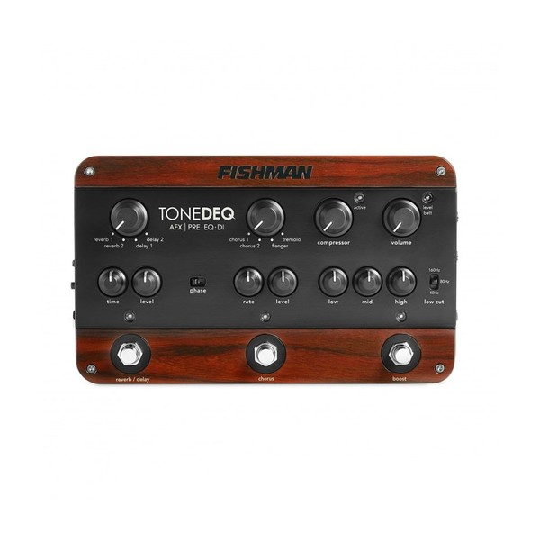 Fishman ToneDeq AFX Preamp, Dual Effects Pedal Main Image