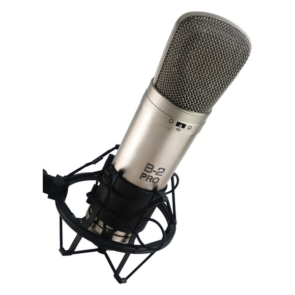 Behringer B-2 Pro Condenser Microphone - Angled