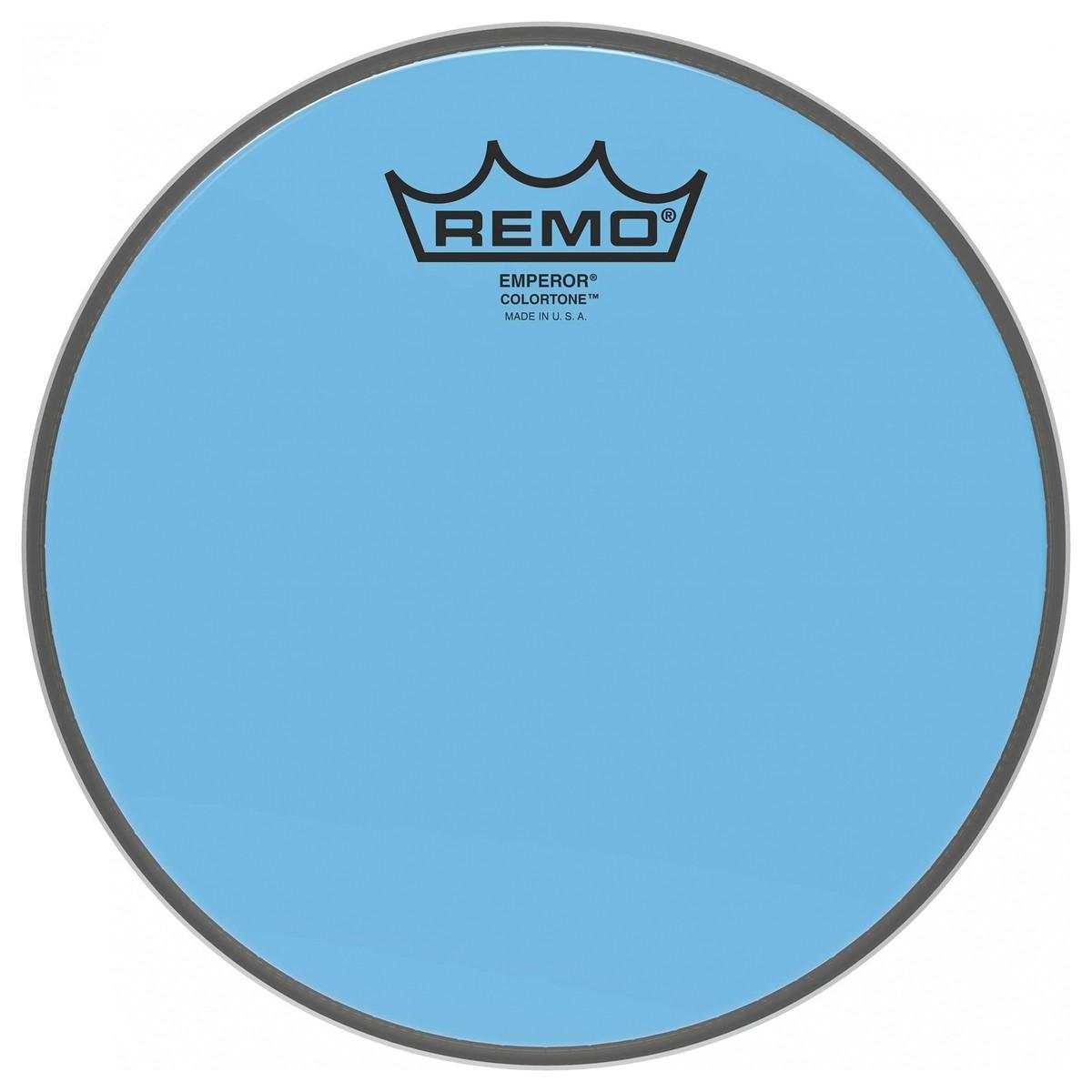 Remo Emperor Colortone 18 Blue Drum Head