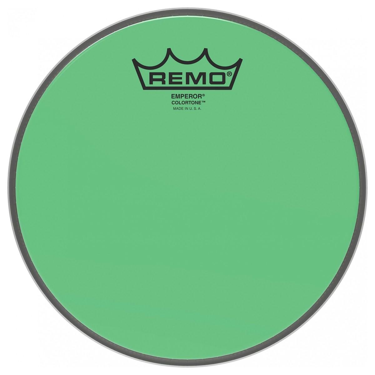 Remo Emperor Colortone Green 15 Drum Head