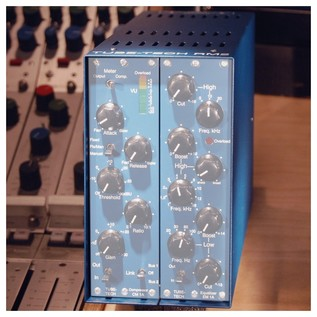 RM 2 Table Top Frame, 2 Channels - On Console (Modules Not Included)
