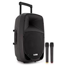 863aad7e14875 SubZero SZPA-P12 Portable PA with Bluetooth + Wireless Mics