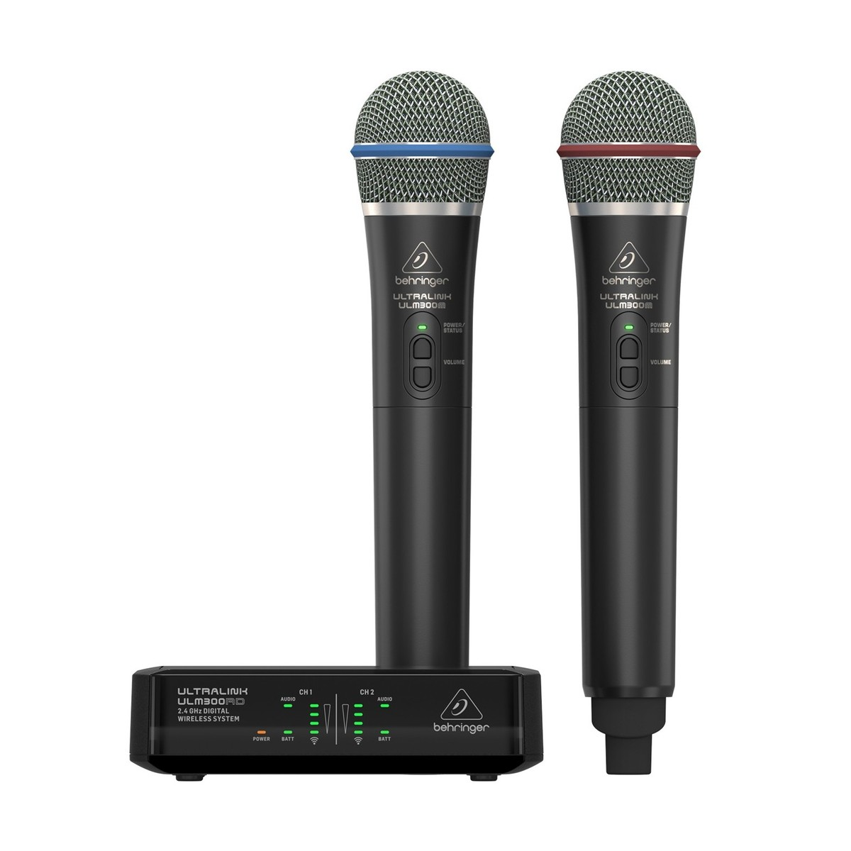 Click to view product details and reviews for Behringer Ulm302mic Dual Digital Wireless Microphone System.