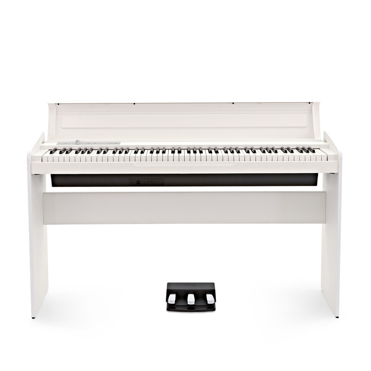 Korg Lp 180 Digital Piano White With Stool Headphones