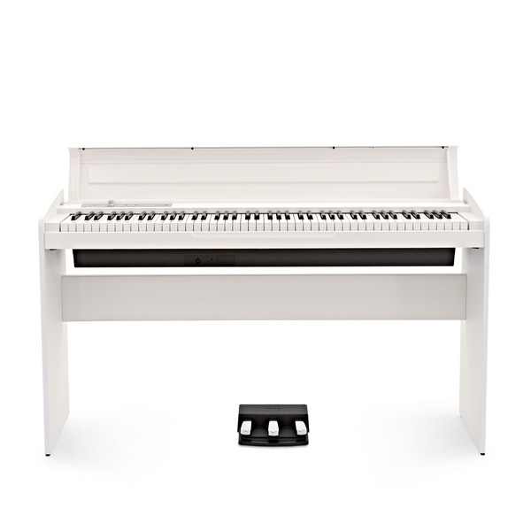 Korg LP-180 Digital Piano, White - Front