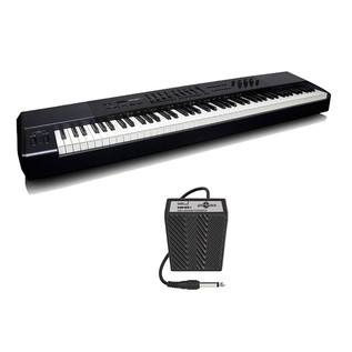 M-Audio Oxygen 88 Key Graded Hammer Action Keyboard with Free Pedal - Main