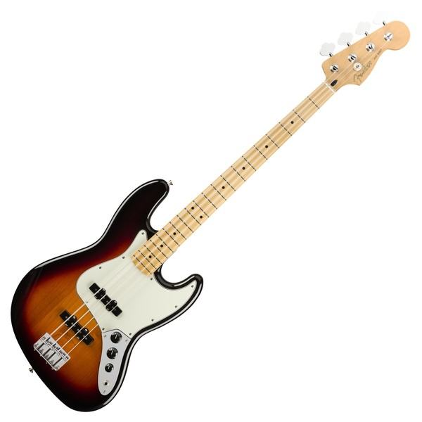 Fender Player Jazz Bass MN, 3-Tone Sunburst