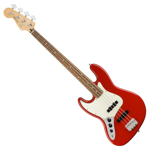 Fender Player Jazz Bass PF Left Handed, Sonic Red